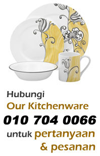 Hubungi Our Kitchenware - 010 704 0066